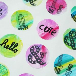 DIY stickers maken met Action