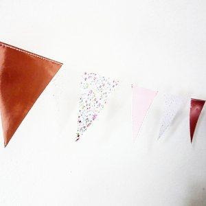 18 jaar , roségouden vlaggenlijn