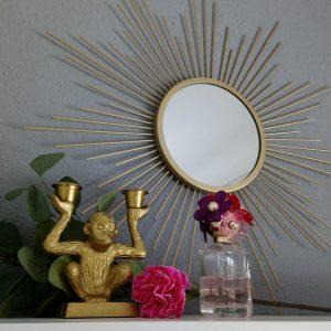 De perfecte budgetvriendelijke Sunburst Mirror