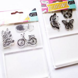 Action Craft Sensations stempelen creatief acrylblok