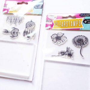 Action Craft Sensations Creatief Stempelen Acrylblok