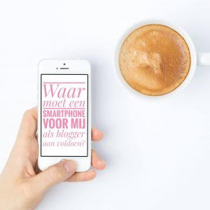 Smartphone voor bloggers Samsung Galaxy S9