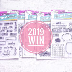 Clearstamps Action Stempels Craft Sensations