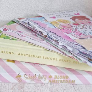 Back To School 2019-2020 oude schoolagenda van Blond Amsterdam