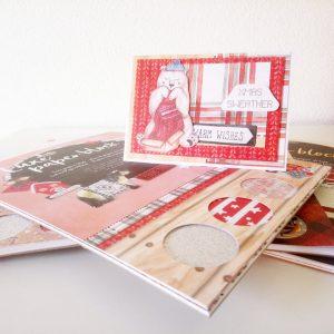 DecoTime Kerst luxe papierblok