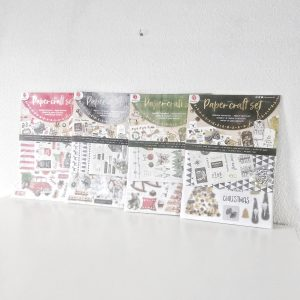 Kerst paper craft set van DecoTime Action