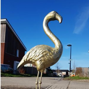 Action gouden flamingo Action DIY