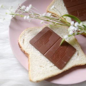 Chocoladeplakjes op brood, Jacques Matinettes