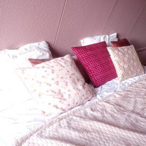 Roze slaapkamer Action