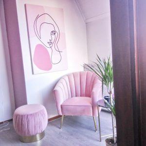 Roze slaapkamer Kwantum