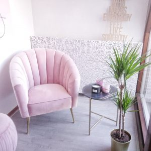 Roze slaapkamer Richmond