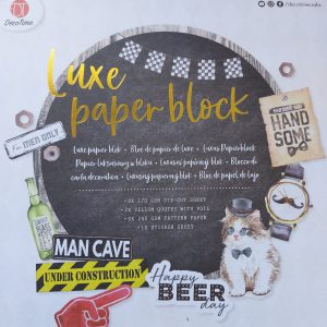 luxe papierblok action