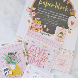 nieuwe luxe papierblokken van DecoTime Crafts