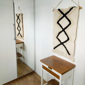 DIY macrame wandkleed Action