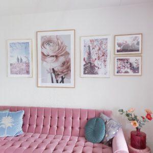 Posters in het interieur
