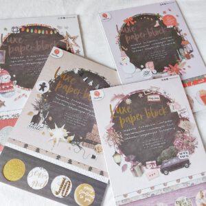 Luxe papierblokken Kerst DecoTime Crafts Action