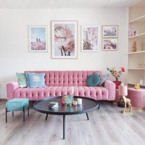 Velvet Roze Bank van Kare Design Milchbar