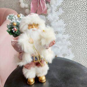 Van Cranenbroek kerstman roze kerst