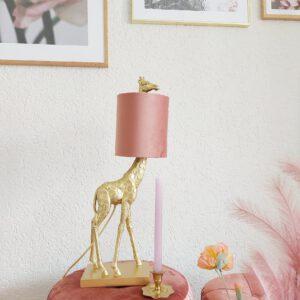 Light & Living giraffe lamp