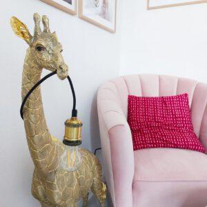 Giraffe vloerlamp dierenlampen