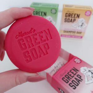 Marcel's Green Soap Shampoo Bars Argan & Oudh
