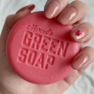 Marcel's Green Soap shampoo bars