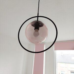 Leitmotiv hanglamp roze hanglamp