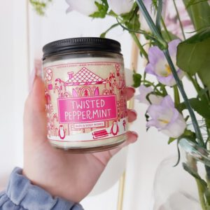 Bath and Body Works kaars Twisted Peppermint