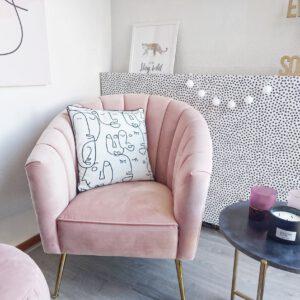 Roze in huis roze interieur inspiratie