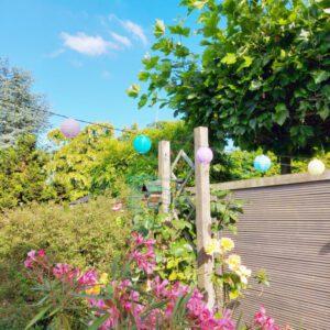 ontspannen en genieten in eigen tuin